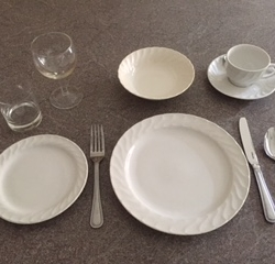 Crockery example