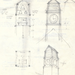 Hapstead Hall Original Drawings of Suggested Tower 17th April 1950