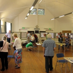 Main Hall exhibition day