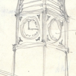 Original Drawings of Suggested Tower 17th April 1950